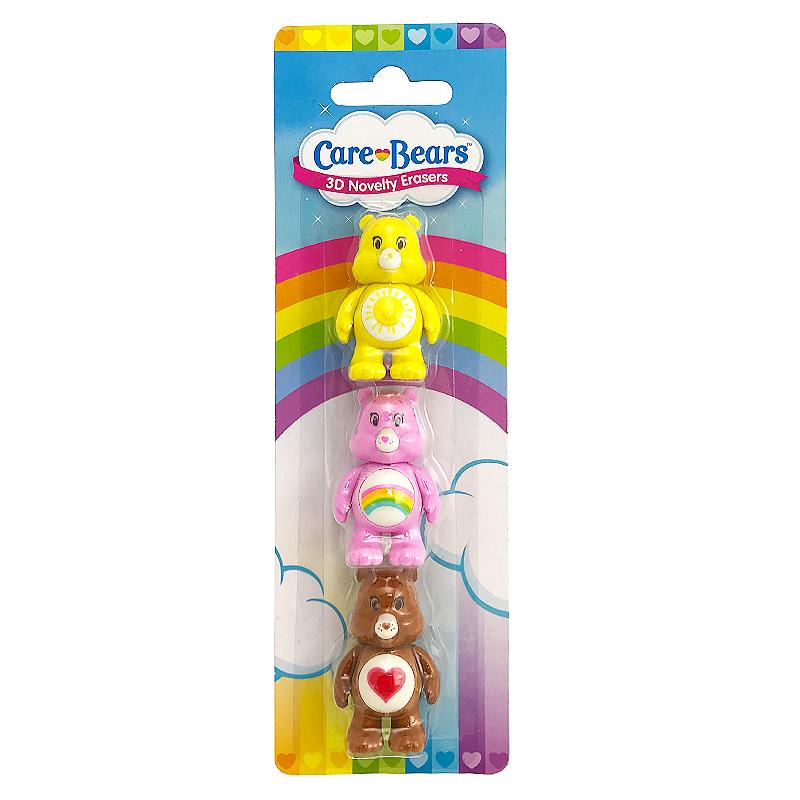 CARE BEARS 3D NOVELTY ERASERS