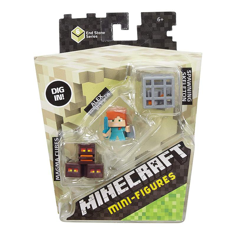 MINECRAFT 3PK MINI FIGURE SET (DTC50)
