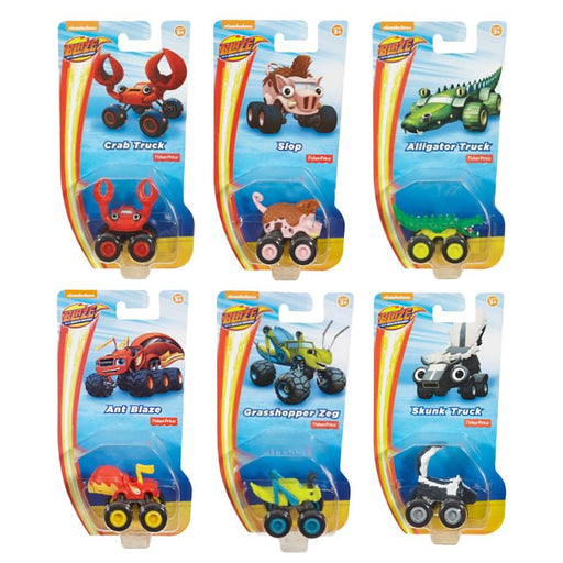 BLAZE & THE MONSTER MACHINES VEHICLE FIGURE