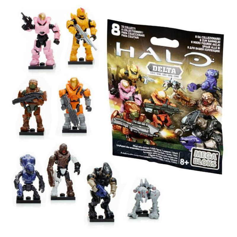 HALO MEGA BLOKS MINI FIGURE BLIND BAG