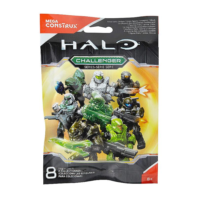 HALO MEGA CONSTRUX CHALLENGER SERIES MINI FIGURE BLIND BAG