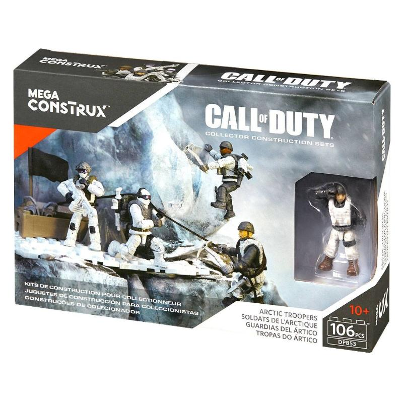 MEGA CONSTRUX CALL OF DUTY ARCTIC TROOPERS 106PC SET