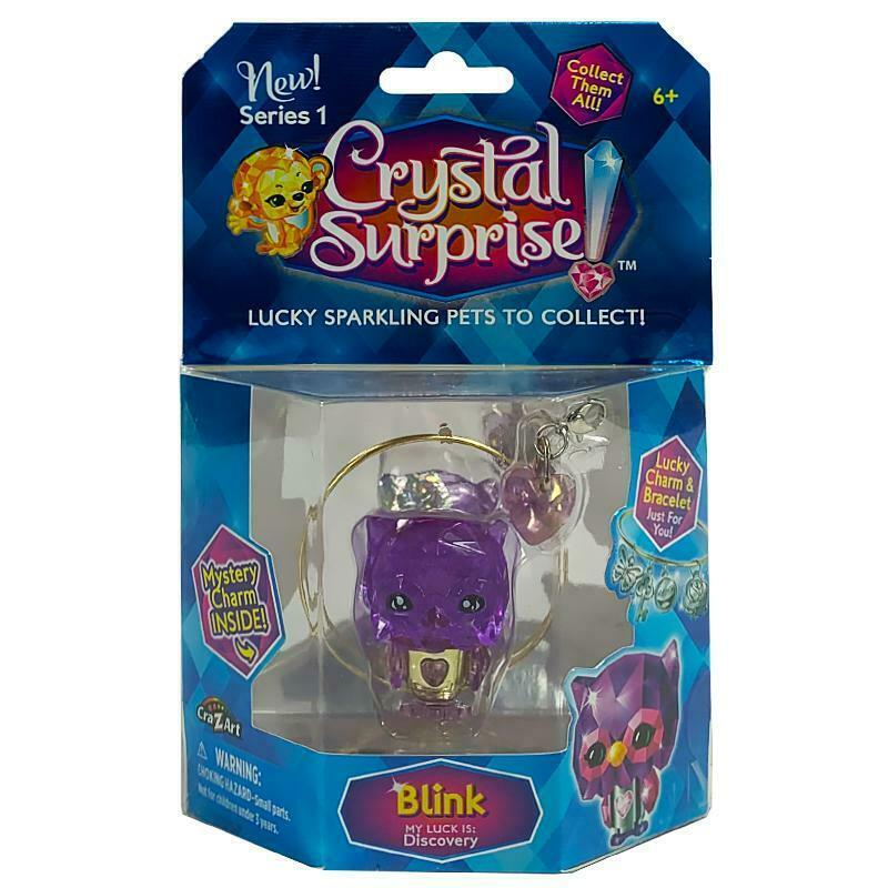 CRYSTAL SURPRISE LUCKY SPARKLE PET CHARM & BRACELET - BLINK