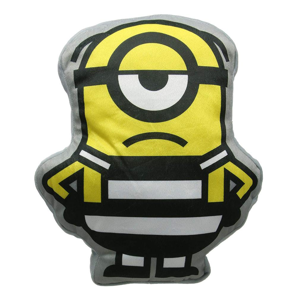 DESPICABLE ME MINION SHAPED 40CM CUSHION