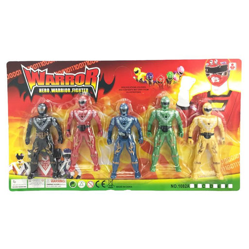 HERO WARRIOR ACTION FIGURE SET