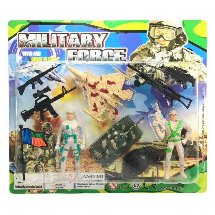 MILITARY FORCE FIGURE PLAY SET
