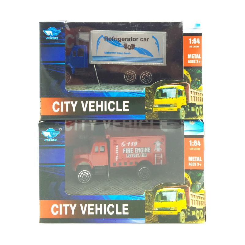 DIECAST CITY VEHICLES