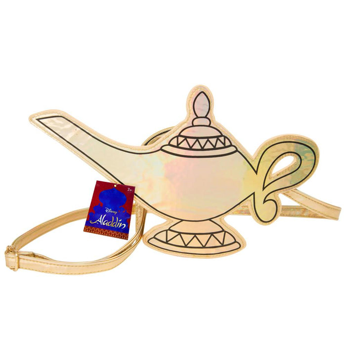Disney Aladdin Genie Lamp Crossbody Purse Bag