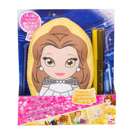 DISNEY PRINCESS BELLE COLOUR & GO FRIEND