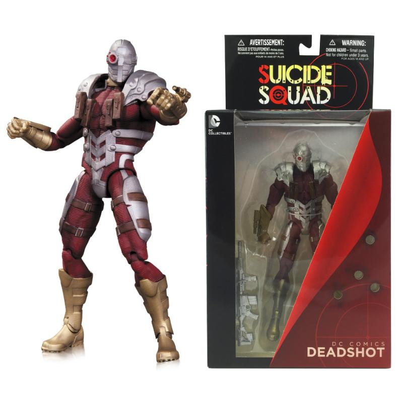 DC COMICS DEADSHOT SUICIDE SQUAD NEW 52 ACTION FIGURE