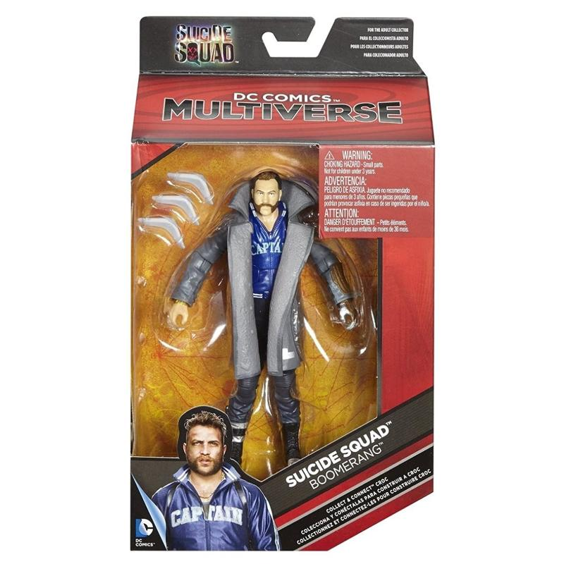 "DC COMICS MULTIVERSE BOOMERANG 6"" ACTION FIGURE"