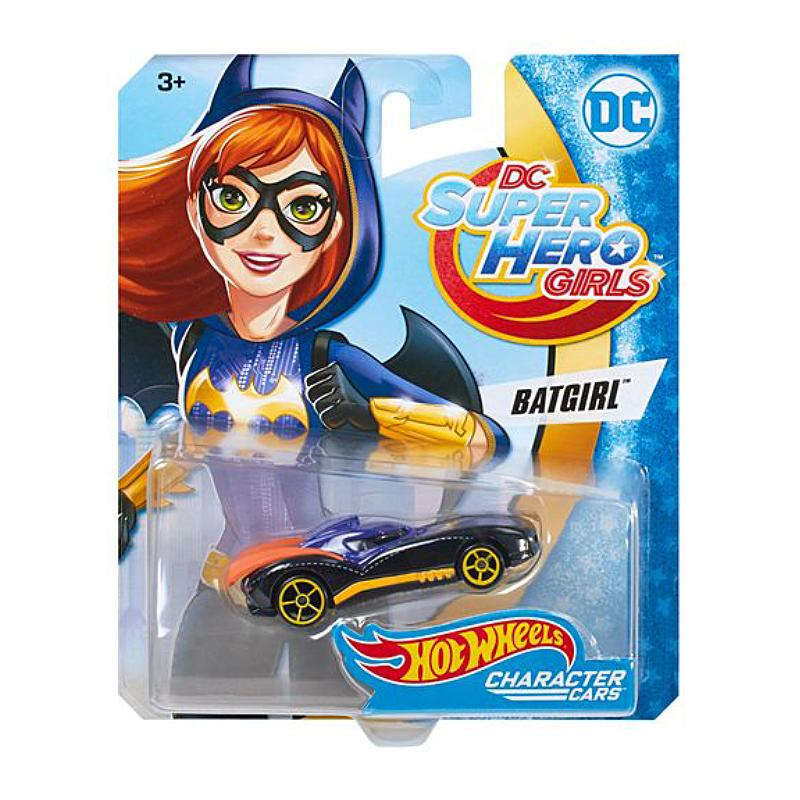 DC HOT WHEELS SUPER HERO GIRL 1:64 DIE CAST CAR - BATGIRL