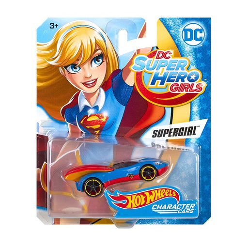 DC HOT WHEELS SUPER HERO GIRL 1:64 DIE CAST CAR - SUPERGIRL
