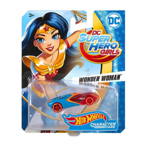 DC HOT WHEELS SUPER HERO GIRL 1:64 DIE CAST CAR - WONDER WOMAN