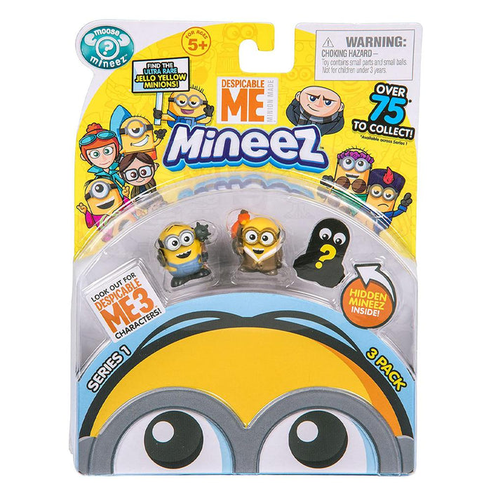 Despicable Me Mineez Series 1 Mini Figure 3 Pack