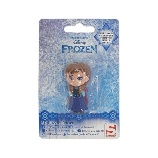 DISNEY FROZEN ANNA MINI 3D FIGURE PUZZLE ERASER