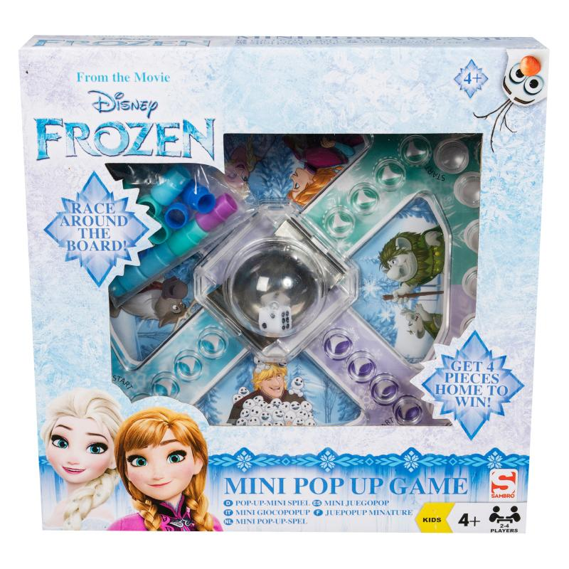DISNEY FROZEN MINI POP UP DICE BOARD GAME