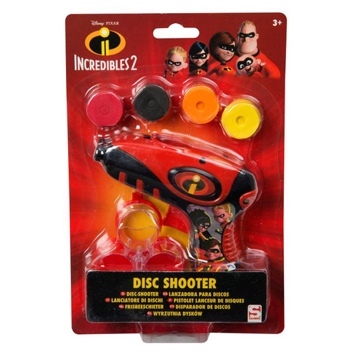 DISNEY PIXAR INCREDIBLES DISC SHOOTER