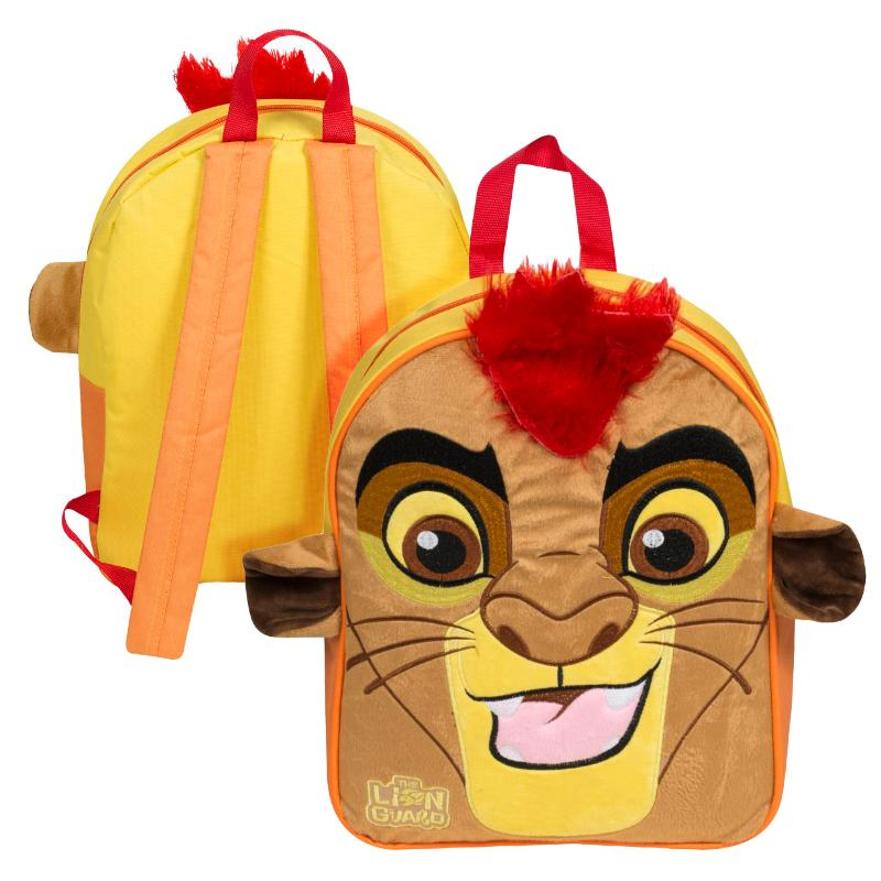 LION GUARD KION PLUSH FRONT BACKPACK