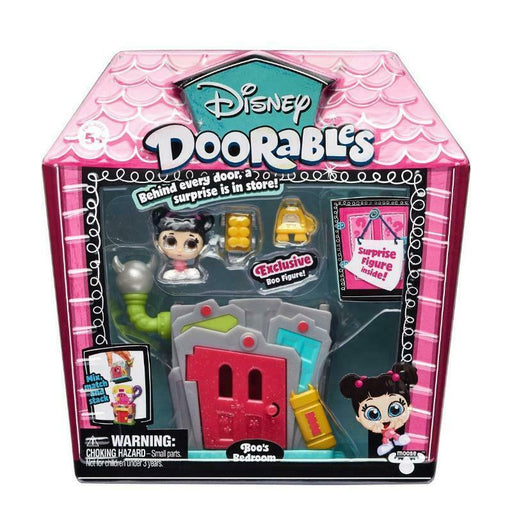 DISNEY DOORABLES MICRO DISPLAY SET - BOO'S BEDROOM