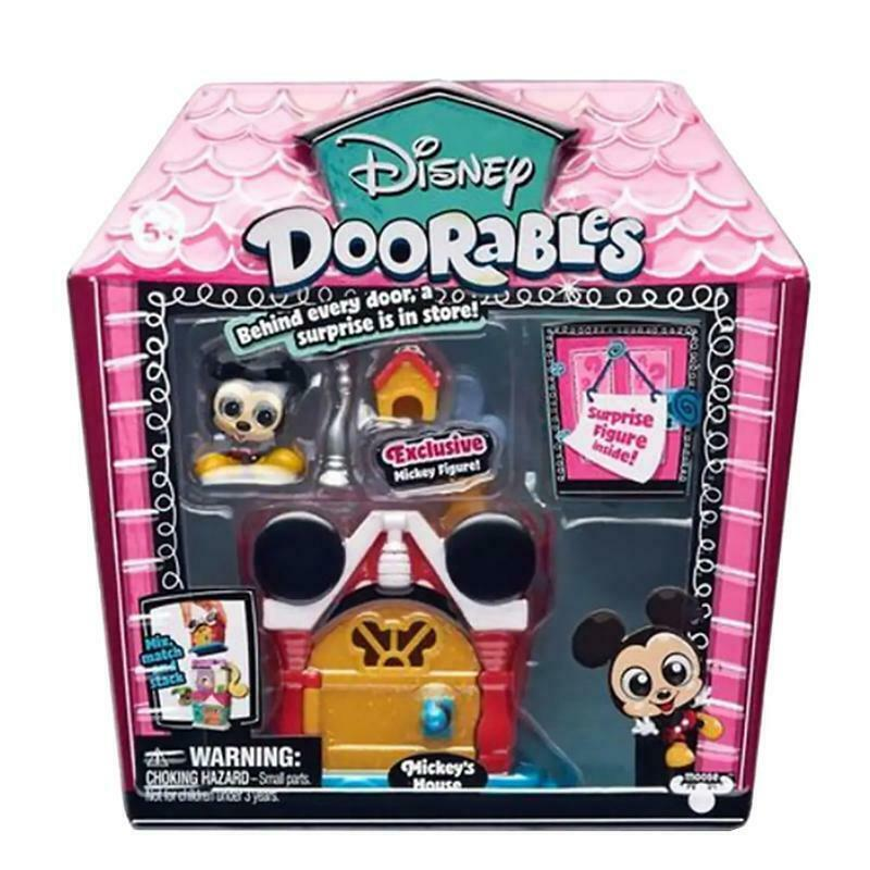 DISNEY DOORABLES MICRO DISPLAY SET - MICKEY'S HOUSE