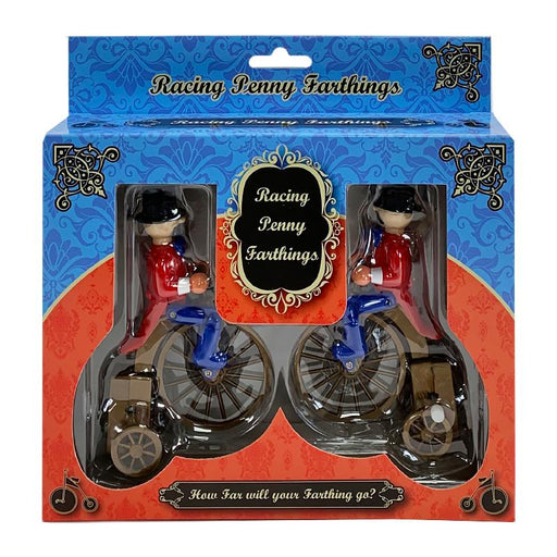WINDUP PENNY FARTHING RACING BIKES