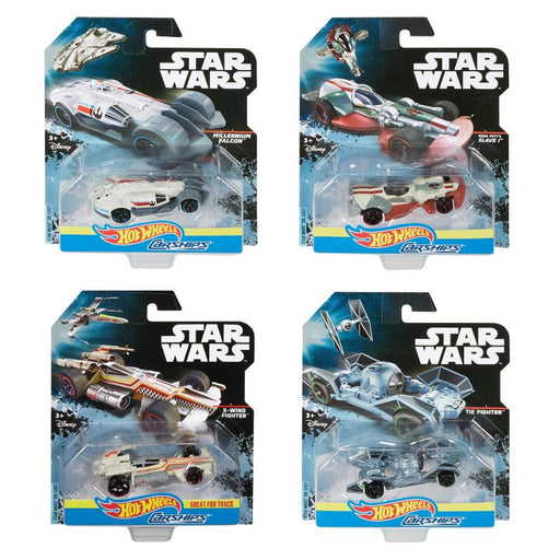 HOT WHEELS STAR WARS CAR SHIPS