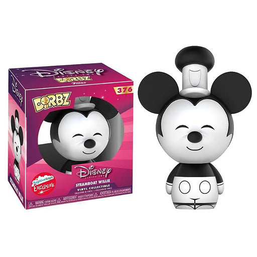DORBZ MICKY MOUSE STEAMBOAT WILLIE VINYL FIGURE