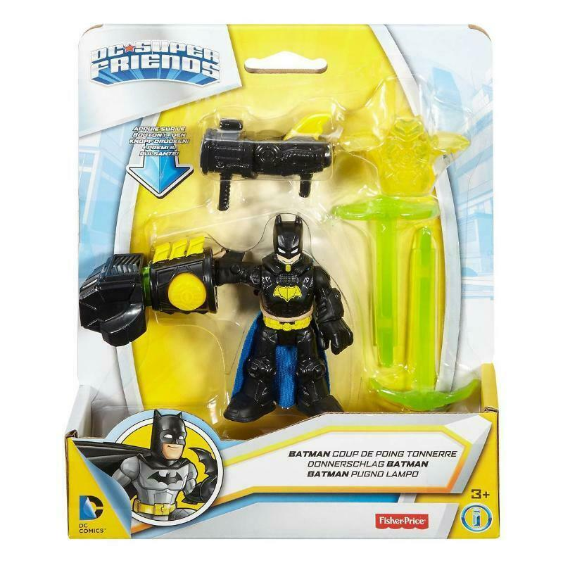 DC SUPER FRIENDS BATMAN THUNDER PUNCH MINI FIGURE SET