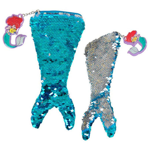 DISNEY THE LITTLE MERMAID ARIEL SEQUIN PENCIL CASE