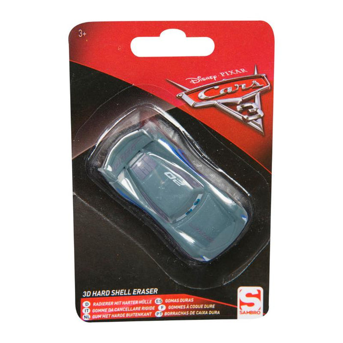 DISNEY CARS JACKSON HARD SHELL 3D ERASER