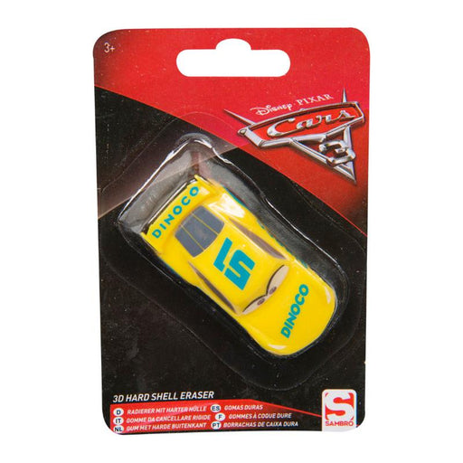 DISNEY CARS CRUZ HARD SHELL 3D ERASER