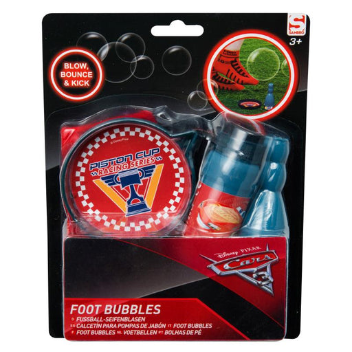CARS 3 BLOW BOUNCE & KICK FOOT BUBBLES