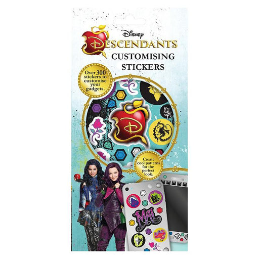 DISNEY DESCENDANTS CUSTOMISING STICKERS