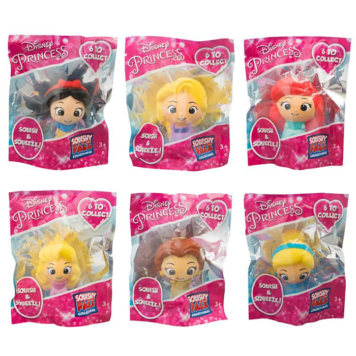 DISNEY PRINCESS SQUISHY PALZ 10CM SQUISHY FIGURE