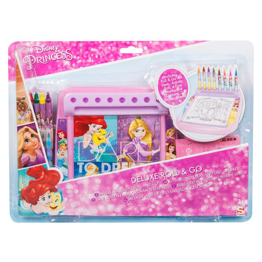 DISNEY PRINCESS DELUXE ROLL & GO PLAY SET