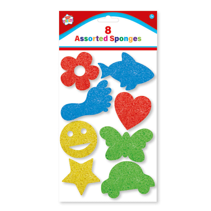 Shaped Sponges 8pc Set