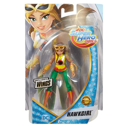 "DC SUPERHERO GIRLS HAWKGIRL 6"" ACTION FIGURE"