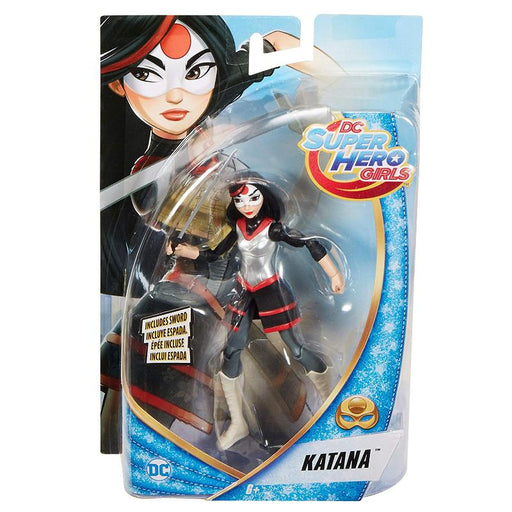"DC SUPERHERO GIRLS KATANA 6"" ACTION FIGURE"