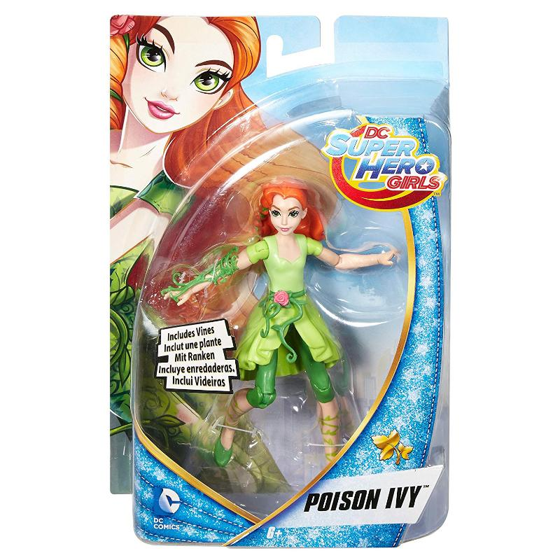 "DC SUPERHERO GIRLS POISON IVY 6"" ACTION FIGURE"
