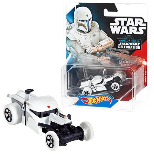 HOT WHEELS STAR WARS BOBA FETT PROTOTYPE SPECIAL EDITION CAR