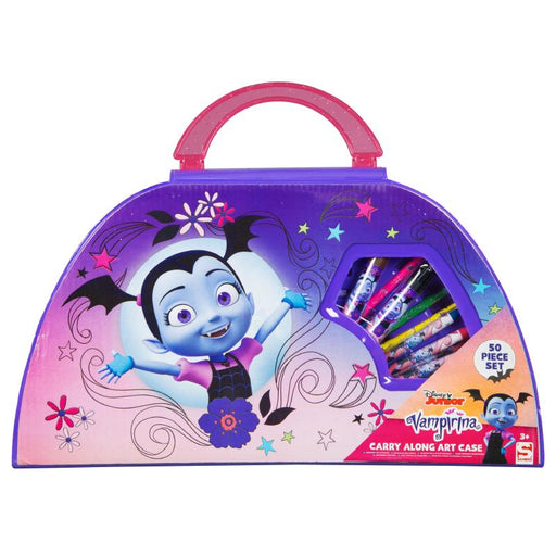 DISNEY JUNIOR VAMPIRINA CARRY ALONG ART CASE