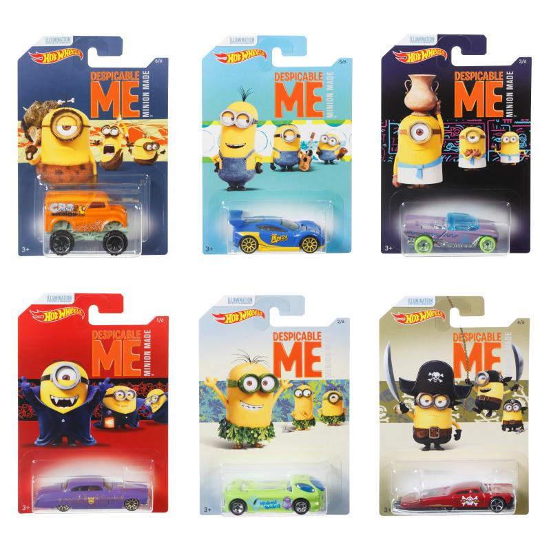 DESPICABLE ME MINIONS HOT WHEELS 1:64 SCALE CAR
