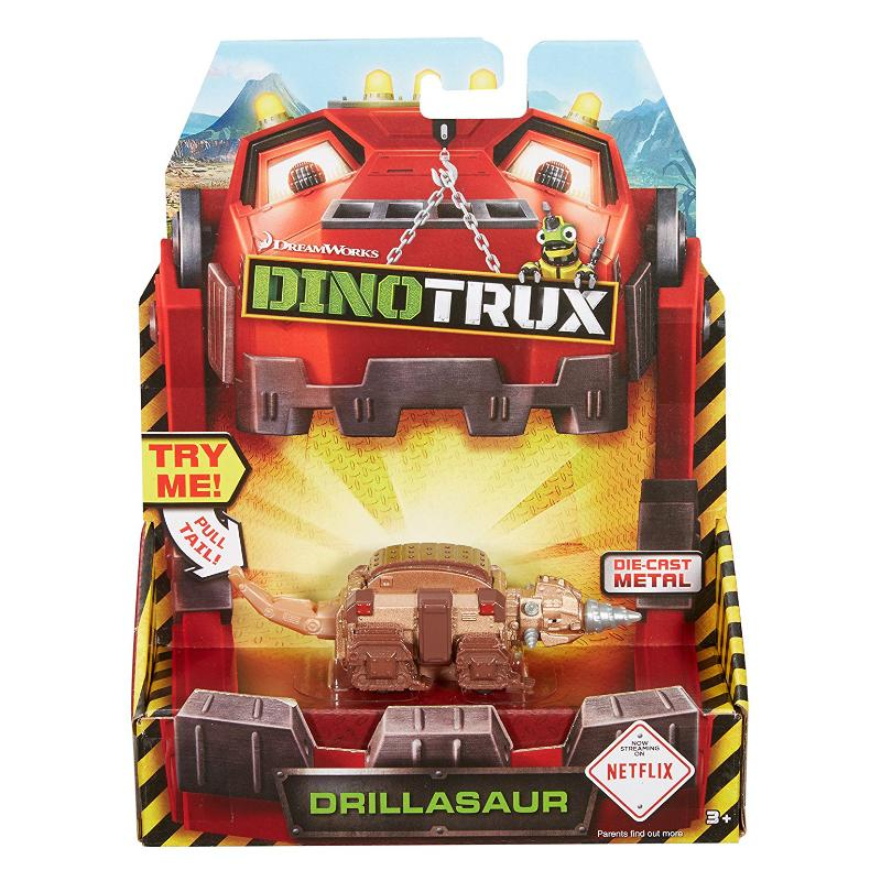 DINOTRUX DIE CAST FIGURE - DRILLASAUR