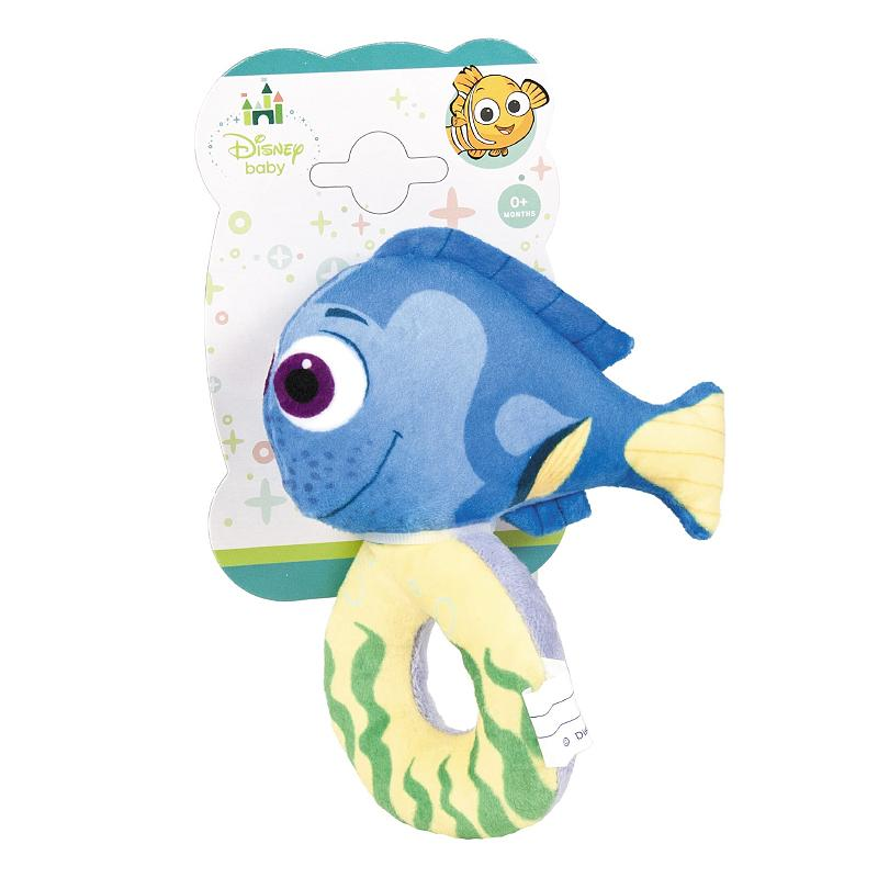 DISNEY BABY FINDING DORY PLUSH RATTLE