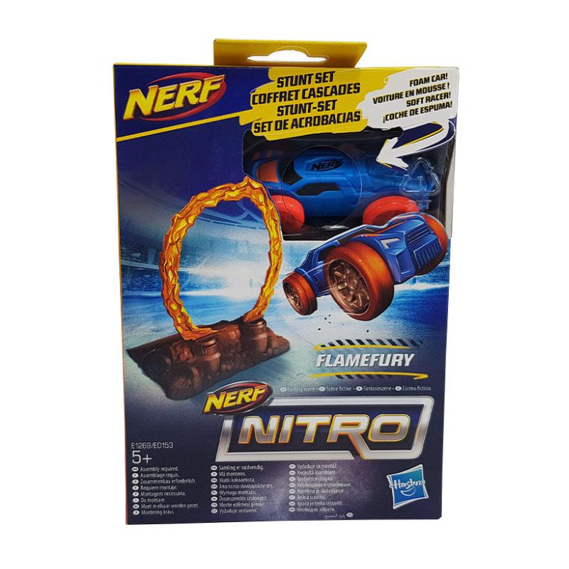 NERF NITRO SINGLE STUNT & CAR FLAME FURY
