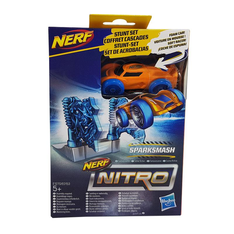 NERF NITRO SINGLE STUNT & CAR SPARK SMASH
