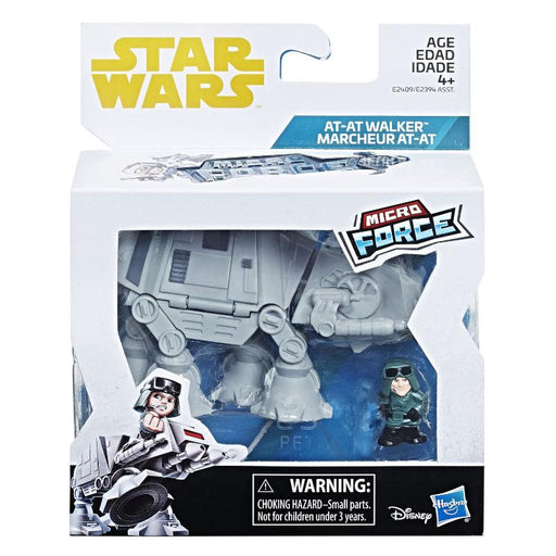 STAR WARS MICRO FORCE AT-AT WALKER FIGURE SET
