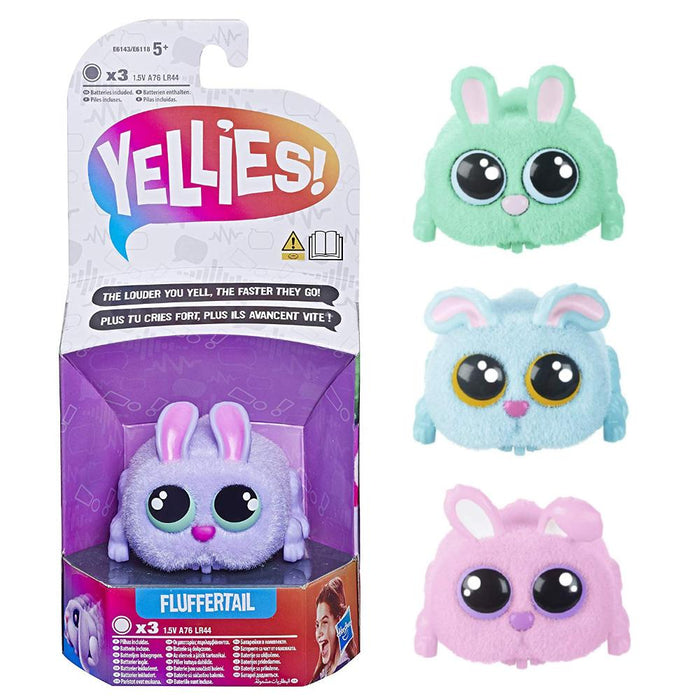 YELLIES BUNNY RABBIT VOICE ACTIVATED INTERACTIVE PET