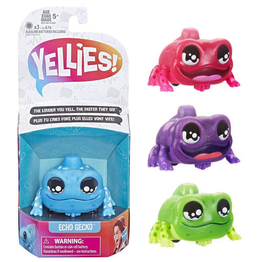 YELLIES LIZARD VOICE ACTIVATED INTERACTIVE PET